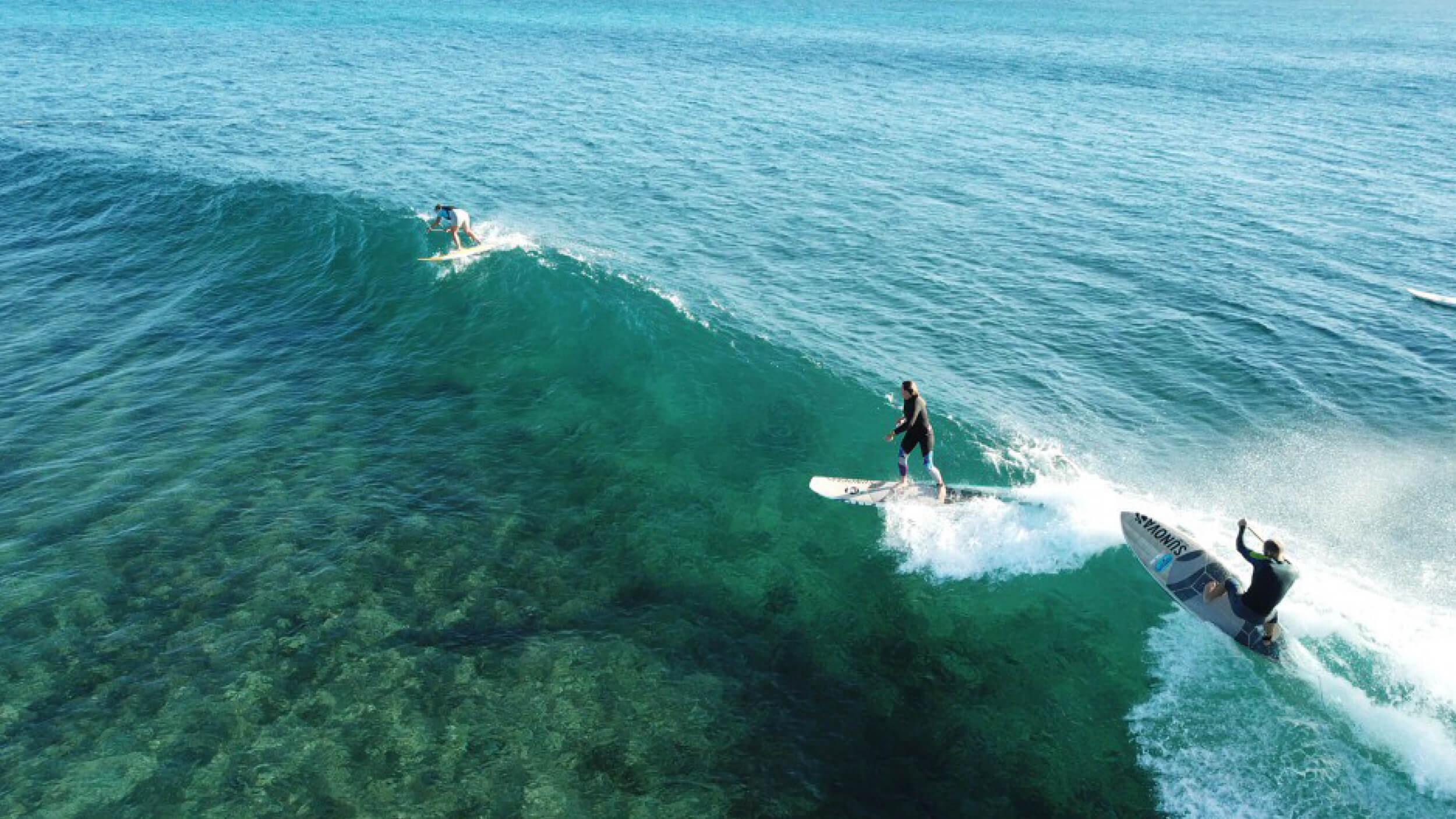 Montebello Islands Surfing