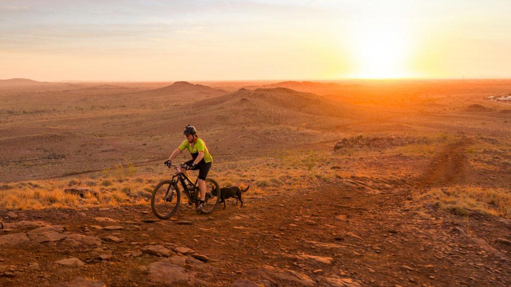 Mountain Biking in the Karratha hills