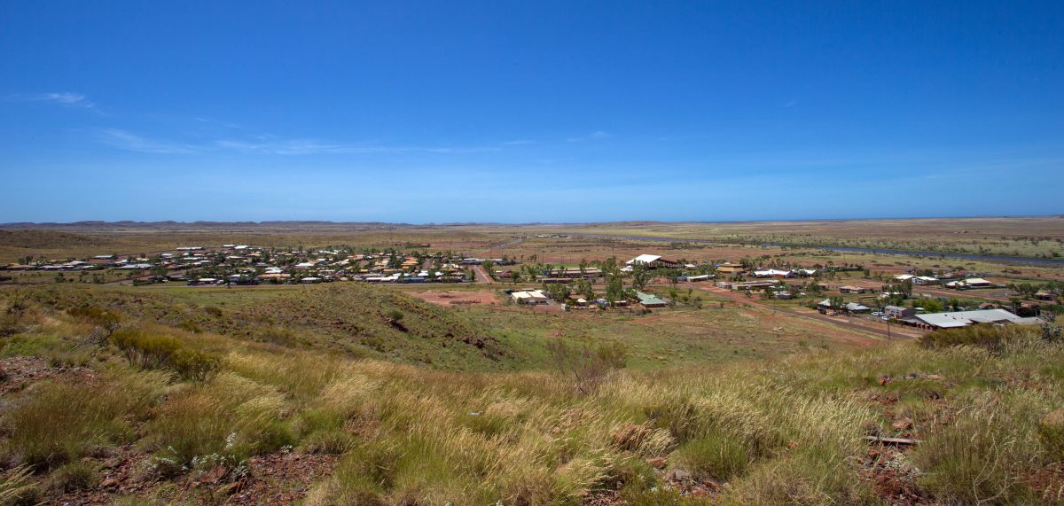 Roebourne town site